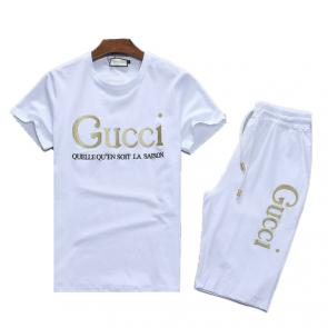 manche courte Tracksuit gucci 2021 new season quellequ saison white