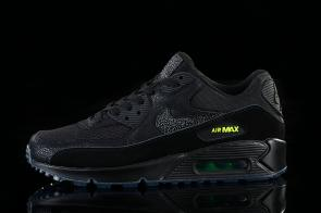 nike air max 90 essential man women black cool