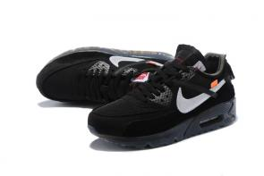 air max 90 off white pas cher prix ow black gray