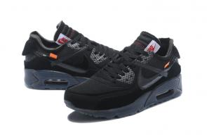 air max 90 off white pas cher prix black ow