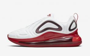nike air max 720 femme new sneakers blanche rouge