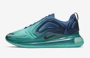 nike air max 720 homme femme new sneakers bleu