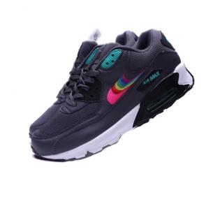 nike air max 90 essential limited edition rainbow nike logo black