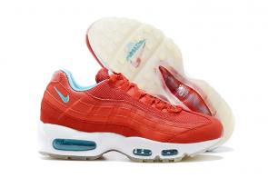 nike air max 95 pour homme shoes rouge blanc