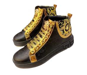 promo chaussure versace garcon embossing flower