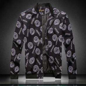 versace blouson homme for sale luxe medusa black